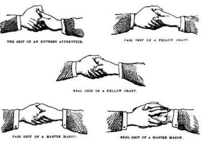 Masonic Handshake Revealed