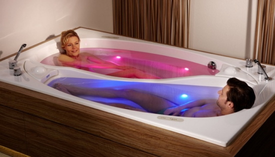 His and Her Bathtubs