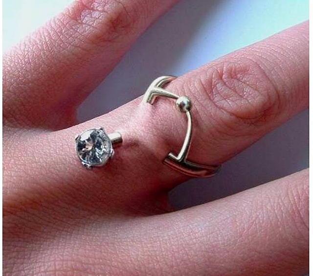 Diamond Dermal Piercings