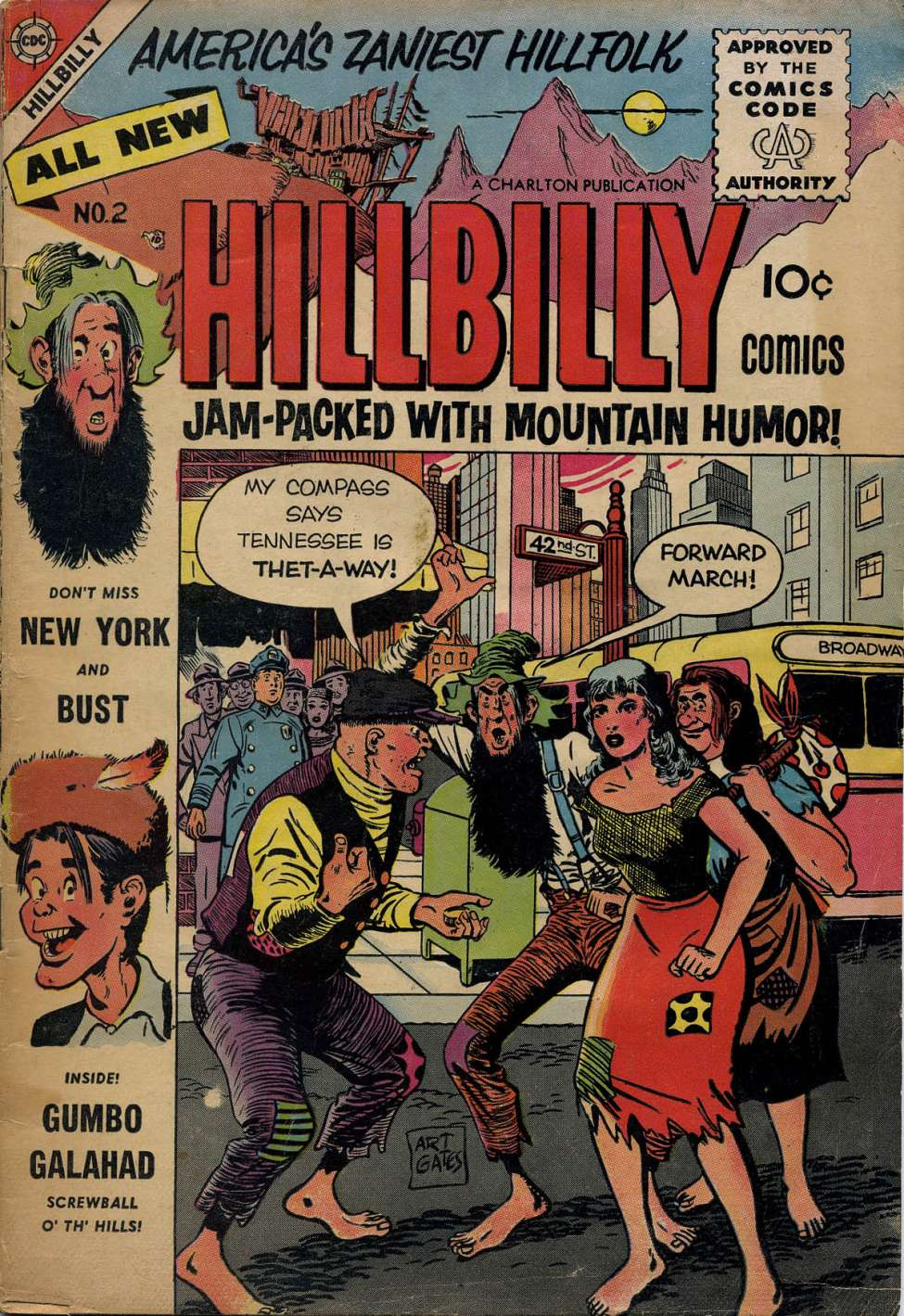 Hillbilly Comic Strips