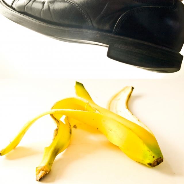 banana skins ahoy